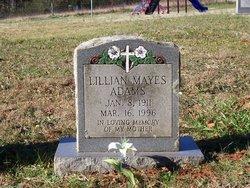 Lillian Mayes Adams