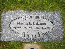 Maxine E. <i>Semons</i> DeLauro