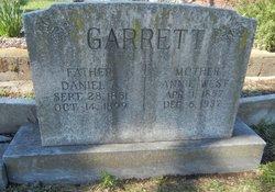 Annie <i>West</i> Garrett