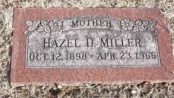 Miller Hazel D.