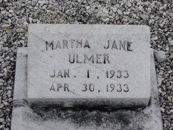 Martha Jane Ulmer