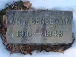 William J Benseman