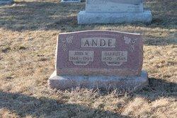 Harriet L. <i>Kitchen</i> Ande