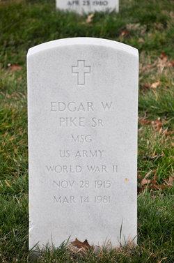 Edgar W Pike, Sr