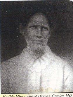 Matilda F. <i>Miner</i> Miner