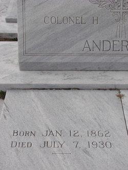 Colonel Harrison Anderson