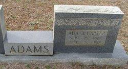 Ada J <i>Carter</i> Adams