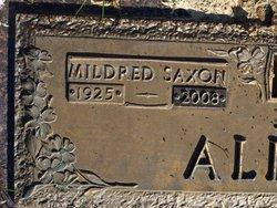 Mildred <i>Saxon</i> Allison