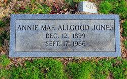 Annie Mae <i>Allgood</i> Jones