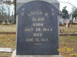 Louisa M Blair