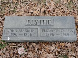 Sarah Elizabeth Liz <i>Curtis</i> Blythe