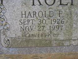 Harold F Koehler