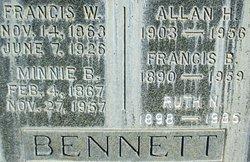 Francis W Bennett