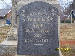 Dr Isaac Hilton Blair