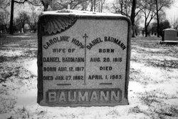 Caroline <i>Hopp</i> Baumann