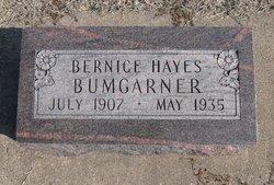 Bernice <i>Hayes</i> Bumgarner