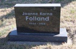 Joanne Karna Folland