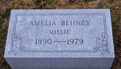 Amelia R. Millie <i>Fisher</i> Behney