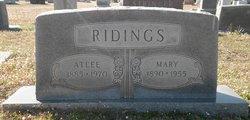 Mary D. <i>King</i> Ridings