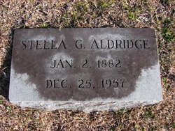 Stella <i>Griffin</i> Aldridge