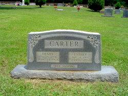Esther Oleta <i>Bowden</i> Carter