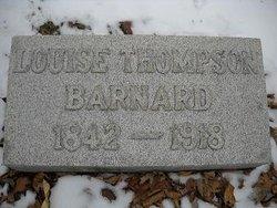 Louise <i>Thompson</i> Barnard
