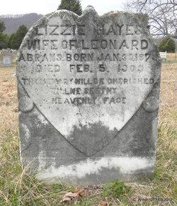 Lizzie <i>Hayes</i> Abrams