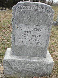Mollie Frances <i>Breeden</i> Wise