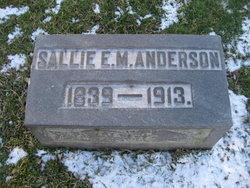 Sallie E <i>Magruder</i> Anderson