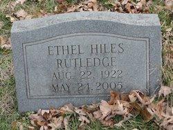 Ethel L <i>Hiles</i> Rutledge
