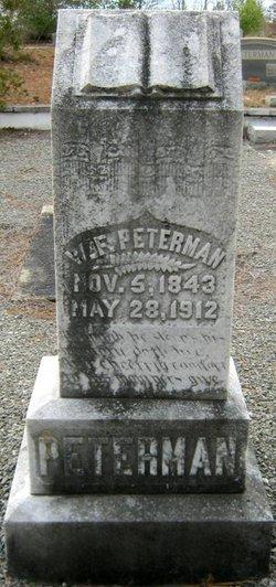 William Franklin Doc Peterman