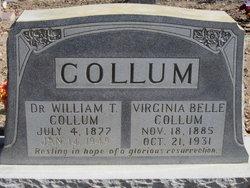 Dr William Thomas Collum