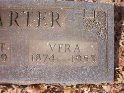 Vera Trobaugh <i>Goforth</i> Carter