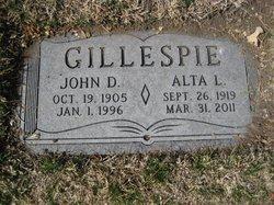 John David Johnny Gillespie