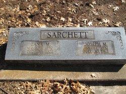 Zana Margaret <i>Allen</i> Sarchett