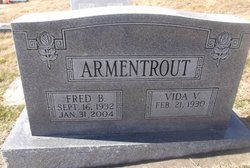 Fred Boyer Armentrout