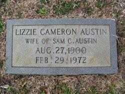 Lizzie <i>Cameron</i> Austin