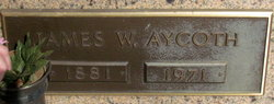 James Walter Aycoth
