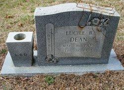 Lucile <i>Baggett</i> Dean