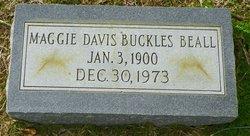 Maggie <i>Davis</i> Beall