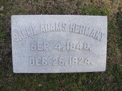 Sallie <i>Adams</i> Hermany
