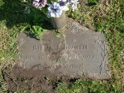 Willie Joyce Billie <i>Rice</i> Bowen
