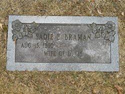 Sarah E Sadie <i>Murphy</i> Braman