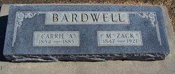Parmalia Caroline Carrie <i>Cahan</i> Bardwell