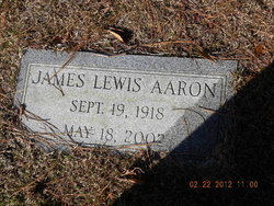 James Lewis Aaron, Jr