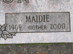 Maidie <i>Holcome</i> Hudson