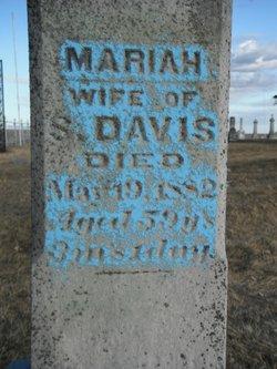 Mariah <i>Shoemaker</i> Davis