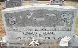 Ronald E. Ronnie Adams