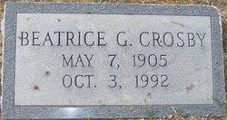 Beatrice G. Crosby