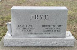 Dorothy Jane <i>York</i> Frye